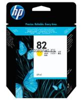 Картридж HP 82 Yellow